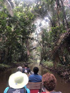 Canoeing to Sasha Lodge